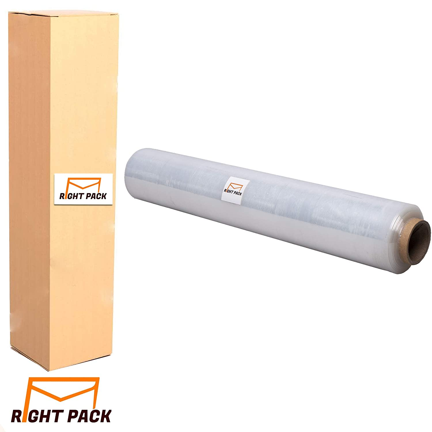 3 STRONG ROLLS CLEAR PALLET STRETCH SHRINK WRAP CAST PARCEL PACKING CLING FILM WIDTH: 400MM