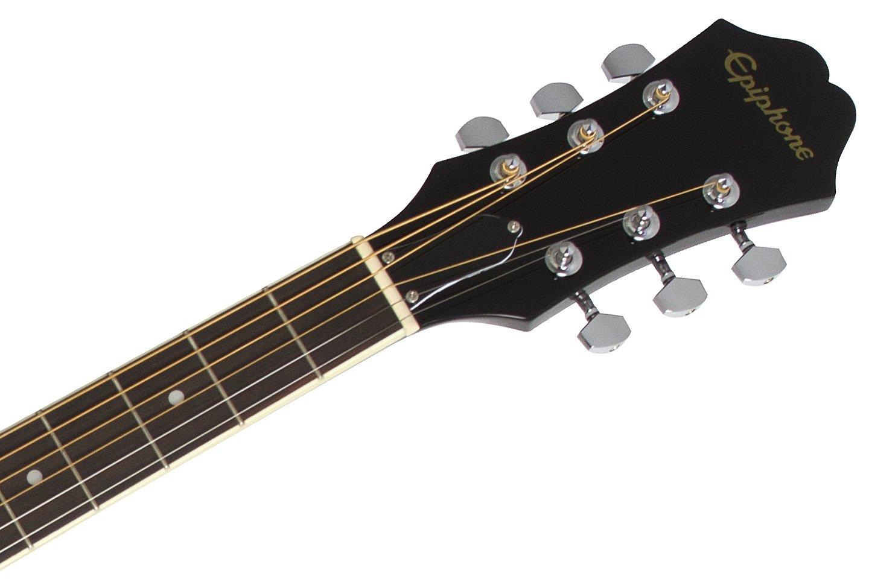 epiphone ft 100 acoustic guitar player pack ebony guitar affinity. Black Bedroom Furniture Sets. Home Design Ideas