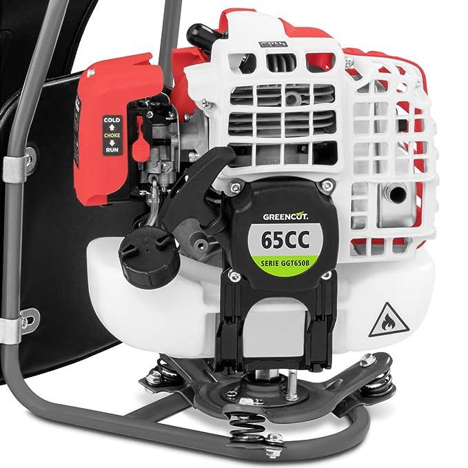 Greencut GGT650B 5-1 - Desbrozadora a gasolina con motor de 65cc, 5 en 1