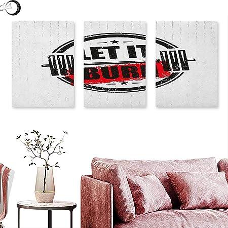 J Capo Sky Aerobica Fitness Poster Stampe Salute Benessere Sport Collezione Parole Su Sfondo Grunge Stile Vintage Triptych Wall Art W 12 X L 24 X3pcs Color07 Amazon It Casa E Cucina