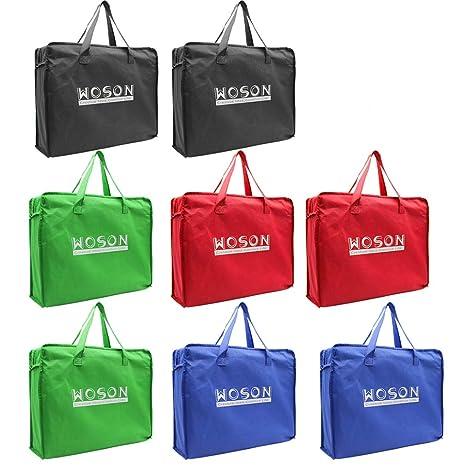woson supermercado bolsas de compras reutilizables de comestibles bolsa de carrito de la compra Express carrito