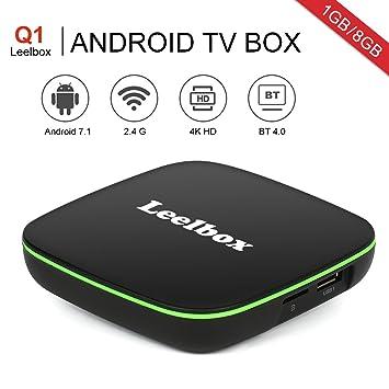 ea09322194d4 Leelbox - Q1 Android 7.1 TV Smart Box