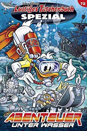 Lustiges Taschenbuch Spezial Band 72: Abenteuer unter Wasser Taschenbuch – 8. September 2016 Disney Egmont Ehapa Media 3841323723 Comic / Abenteuer