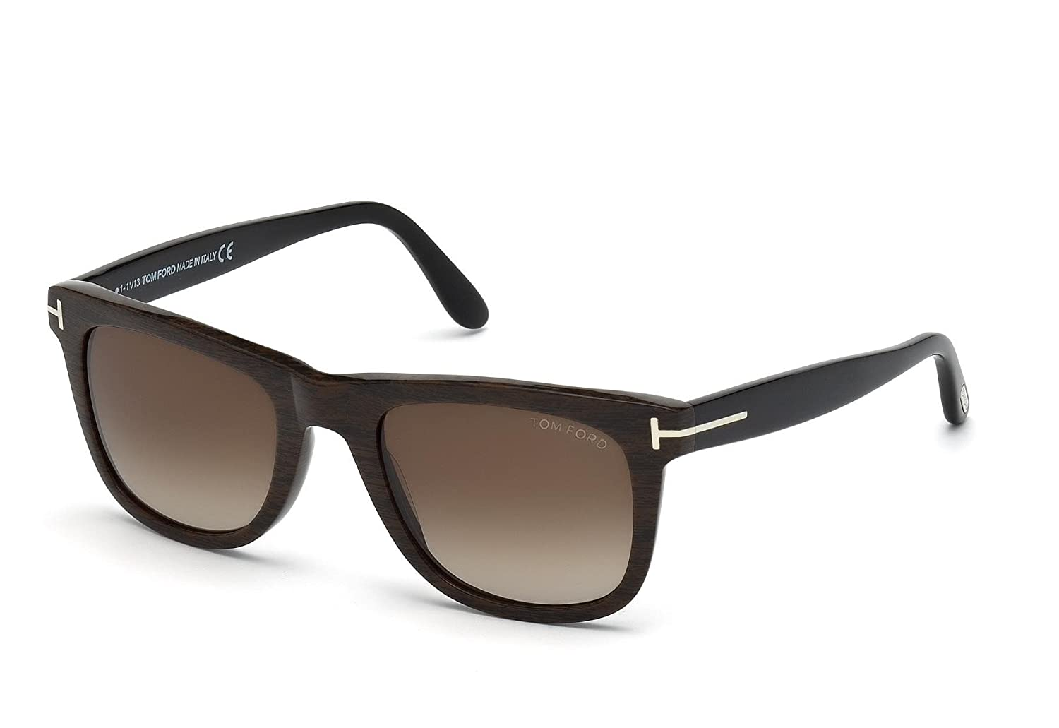 577dd93f2444 Amazon.com  Tom Ford Leo Square Sunglasses (FT0336) (05K)  Clothing