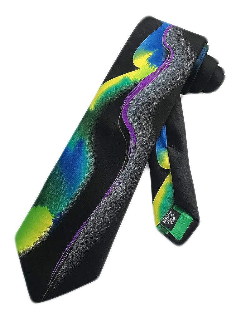 Jerry Garcia Mens Grateful Dead Necktie Multicoloured One Size Neck Tie