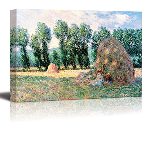 Haystacks by Claude Monet Print Famous Painting Reproduction