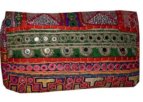 Tribal Asian Textiles , Damen Schultertasche merhfarbig