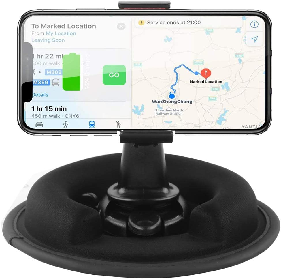 Dosili Dashboard Friction Mount,Cell Phone car Holders,for Cell Phone and GPS Vehicle Mounts