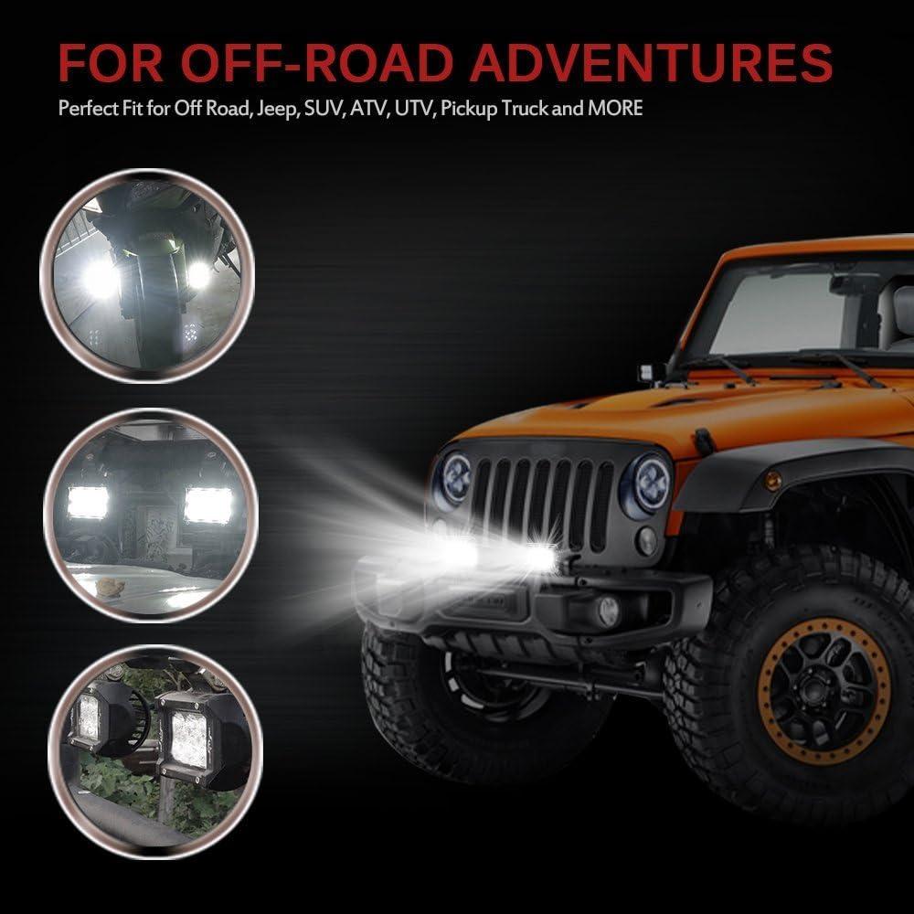 Mictuning 2x18w Auto Led Zusatzscheinwerfer Arbeitslicht Led Light Bar Auto