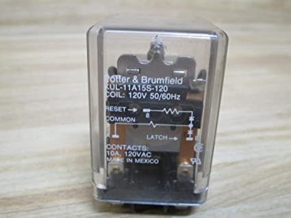 Potter Brumfield Tyco Kul11a15s120 Plug In Relay Electronic