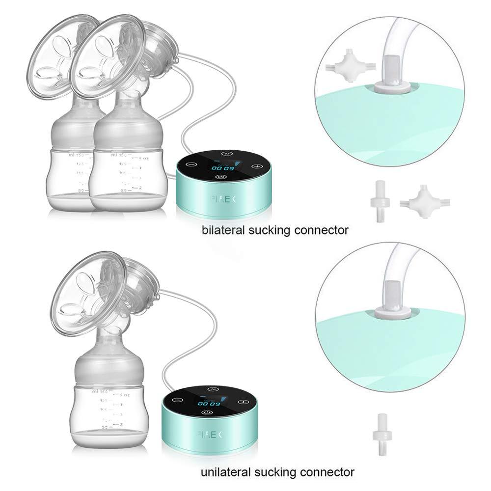 Tire-lait Electrique de Massage Batterie Int/égr/ée avec Grande Capacit/é Pompe Allaitement 3 Phases 9 Fr/équences Aide de Voyage