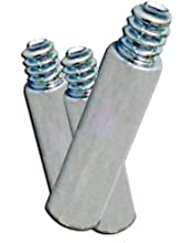 Qty 100 pieces 3//4 in Aluminum Chicago Screw//Screw Post Extensions