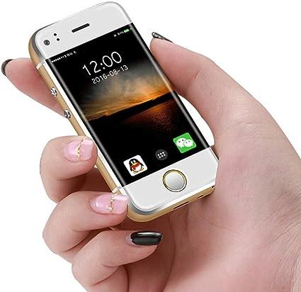 Mini teléfono móvil Desbloqueado 2,45 Pulgadas Soyes Smartphone Android 5.1 OS teléfono Celular (Oro): Amazon.es: Electrónica