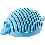 YAMAZAKI home Silicone Animal Card-Holder, Blue/Armadillo