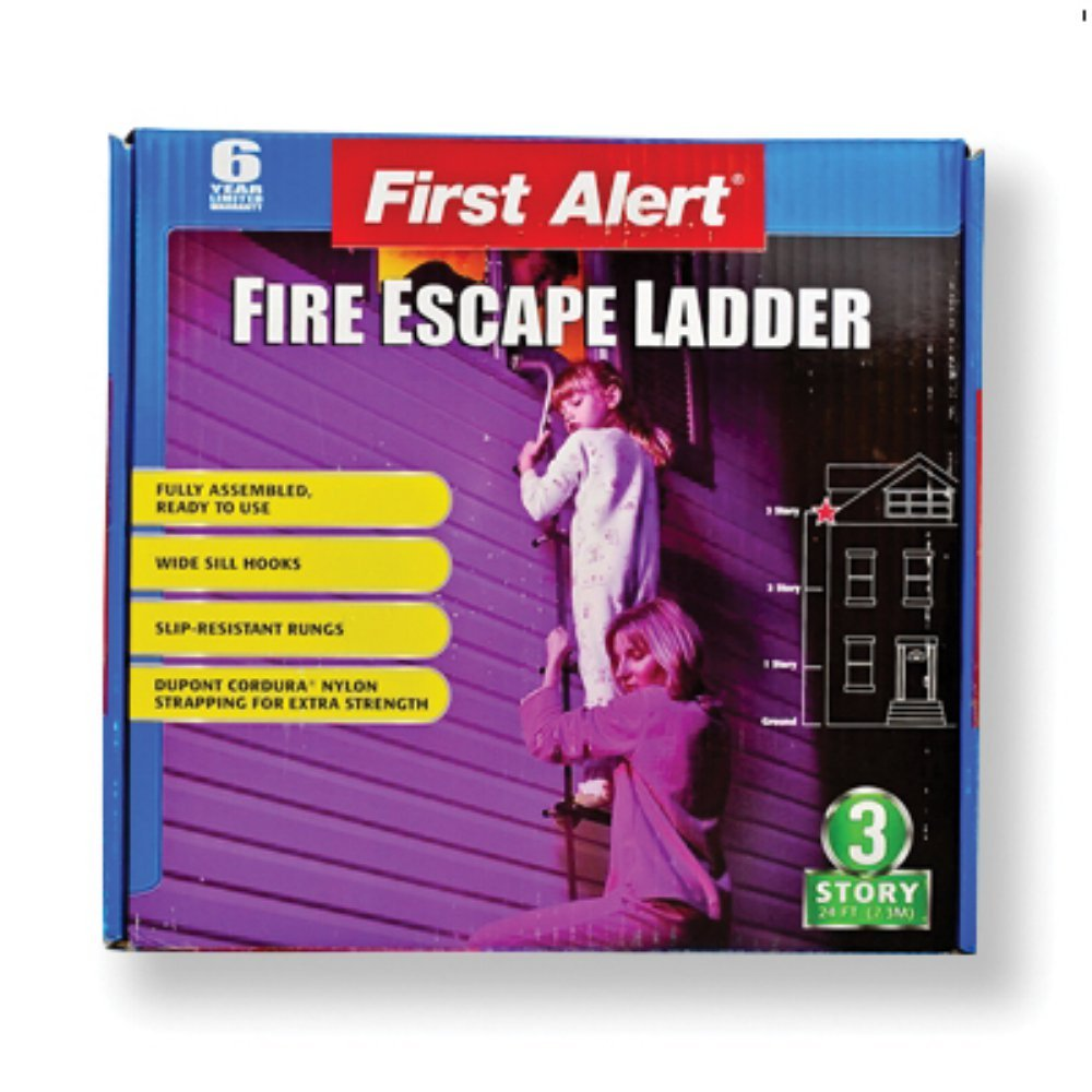 First Alert 24 Foot Fire Escape Ladder