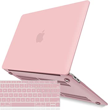 Plastic Hard Case Shell Cover Only Compatible with MacBook Air 13 Inch with Touch ID Pink MOSISO MacBook Air 13 Case 2019 2018 Release A1932 with Retina Display