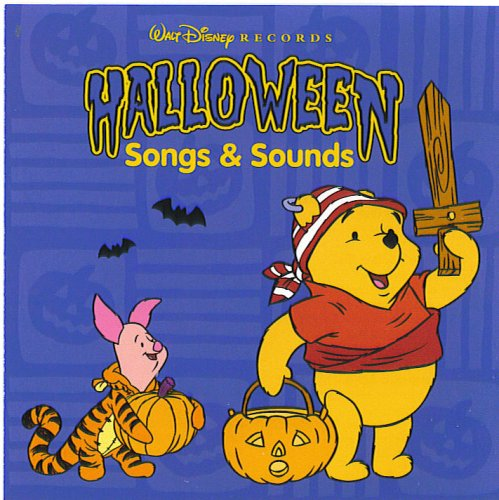 Winnie-the-pooh Halloween Huffalumps and Woozles, Which Witch Is Which? They Don't Scare Me, Werewolf Song, Shake Your Bones, I Wanna Scare Myself, Night Creatures, Haunted House, Dungeon, Witches, Encounter in Fog, Mad Scientist Laboratory -