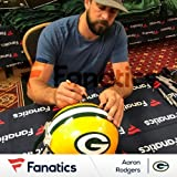 Aaron Rodgers Green Bay Packers Autographed Riddell Replica Helmet - Fanatics Authentic Certified - Autographed NFL Helmets