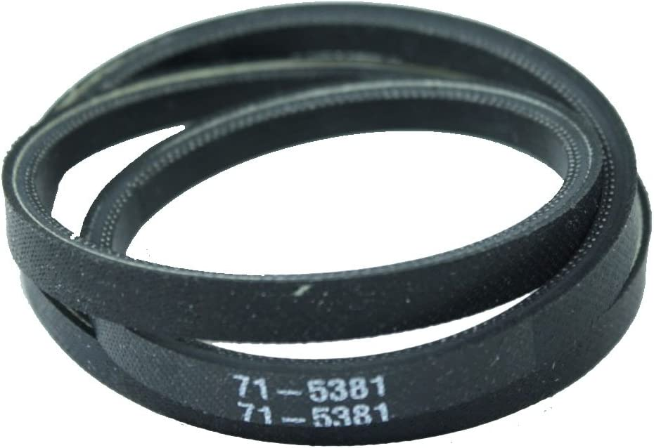 Snowthrower Belt Replaces Toro 71-5380 and 71-5381