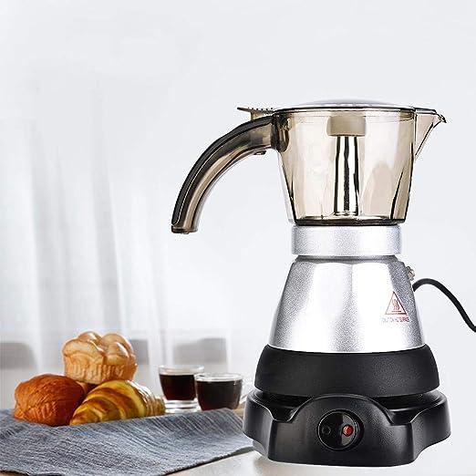 Cafetera, gran capacidad eléctrica Moka Pot Stovetop Espresso ...