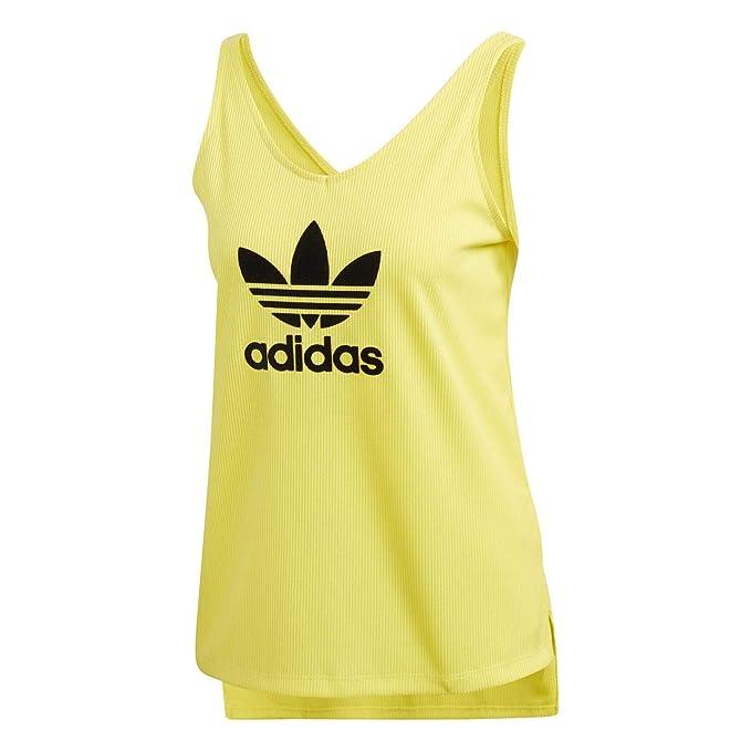 adidas Camiseta Tirantes (Tank Top) Fsh L Amarillo/Negro Talla: 40 M