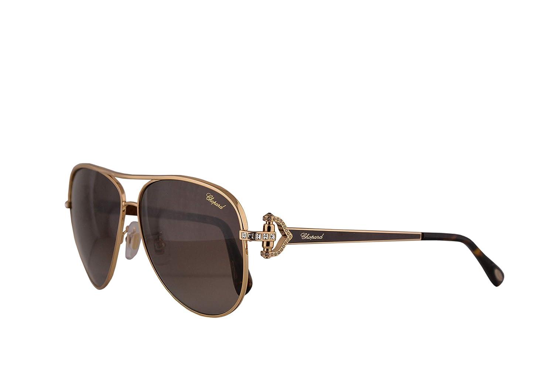 Chopard SCHC17S gafas de sol w/polarizado Brown Gradient ...