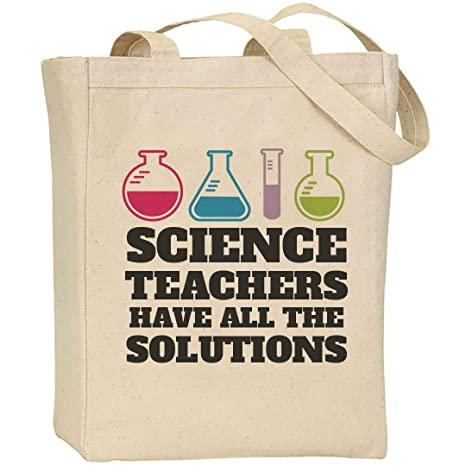 b376bfba825c Amazon.com: Teacher's With Solutions: Liberty Canvas Tote Bag: Customized  Girl