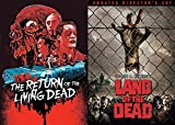 The Dead Zombie DVD Bundle - Land of the Dead George A. Romero's & Return of the Living Dead Movie Classic Horror Collection