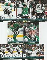 2017-18 Upper Deck Complete Dallas Stars Team Set of 13 Cards: Antoine Roussel(#58), Radek Faksa(#59), Dan Hamhuis(#60), Jason Spezza(#61), Kari Lehtonen(#62), Stephen Johns(#63), Tyler Seguin(#64), Marc Methot(#307), Jamie Benn(#308), Martin Hanzal(#309)
