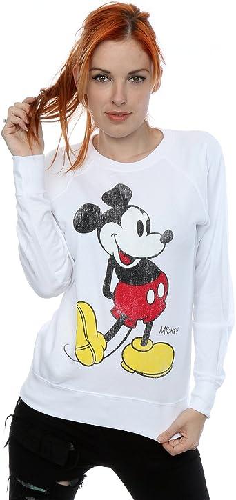 sweat shirt femme mickey