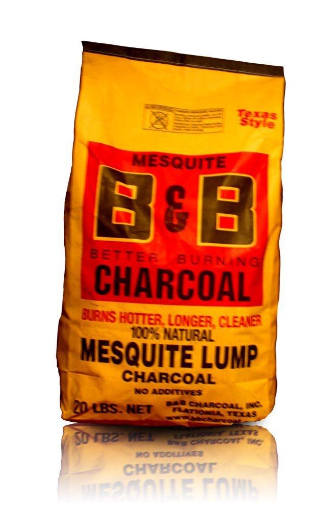 B&B Charcoal Mesquite Lump Charcoal by B&B Charcoal