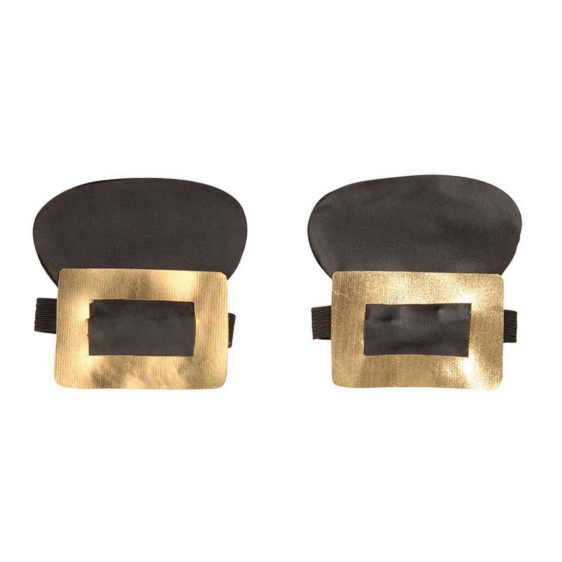 Mittelalterliche Schuhschließe gold Barocke Schuhschnallen barocker Schuhschmuck