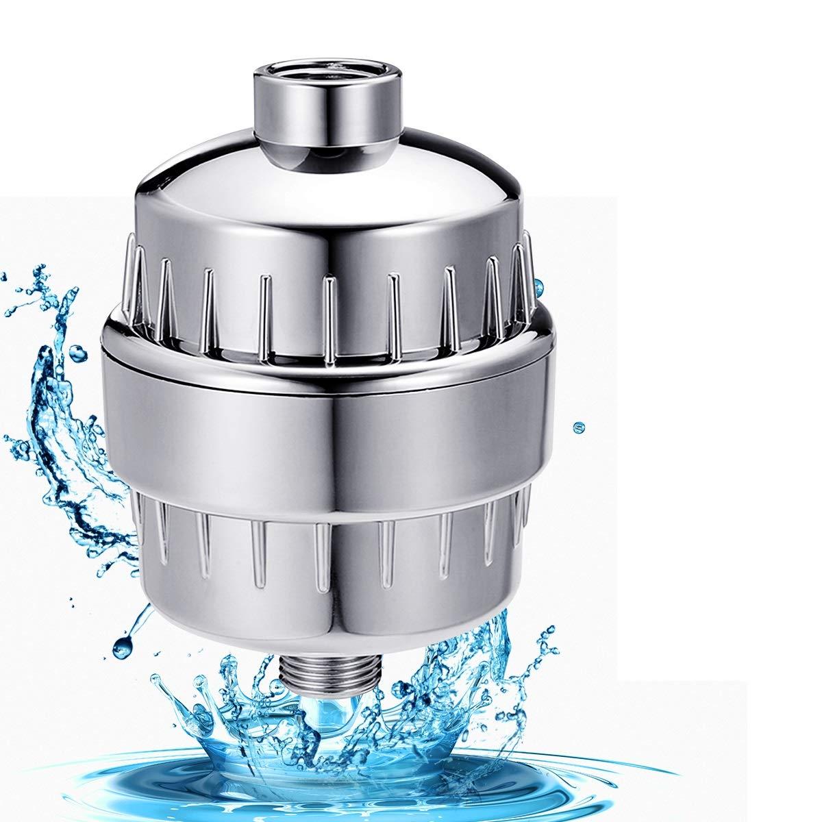 Filtri doccia TAPCET depuratore da 10 livelli con un depuratore di acqua del bagno con certificazione CE Quriccloy_IT