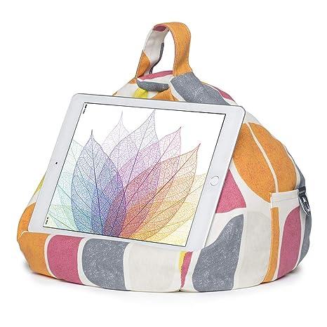 iBeani IB-Luna - Soporte para iPad y Tableta, diseño de puf
