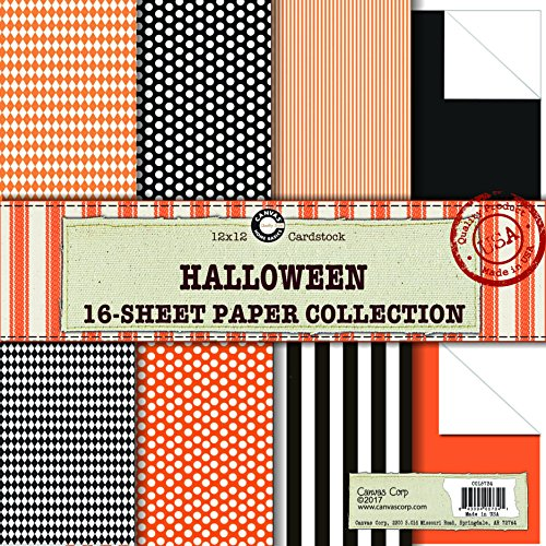 Canvas Corp Halloween Paper Collection for $<!--$9.30-->