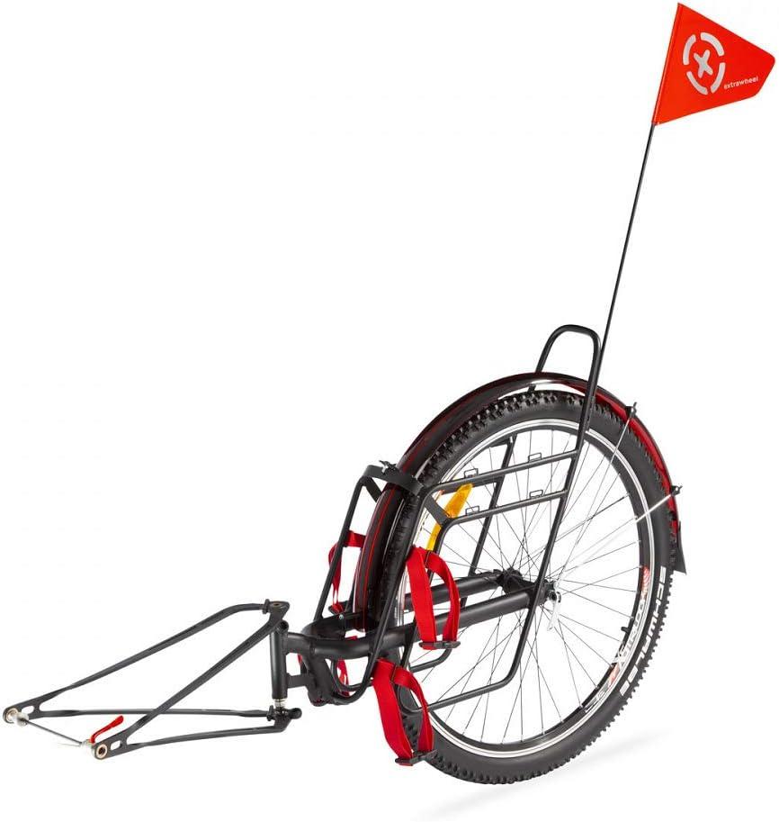 Extrawheel Voyager Pro - Remolque para Bicicleta con Rueda de 26 ...