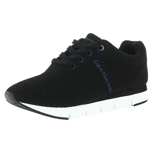 Calvin Klein Tada Malla, Zapatillas de Deporte Suela Mujer: Amazon.es: Zapatos y complementos