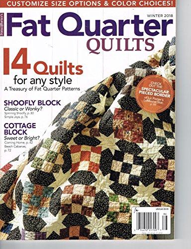 Fat Quarter Quilts Winter Magazine 2018