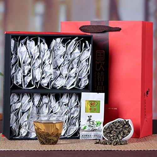 China Tea Authentic Fuzhou jasmine tea, Luzhou jasmine tea, Dragon Ball gift box, Chinese New Year gift tea 320G by CHIY-GBC ltd