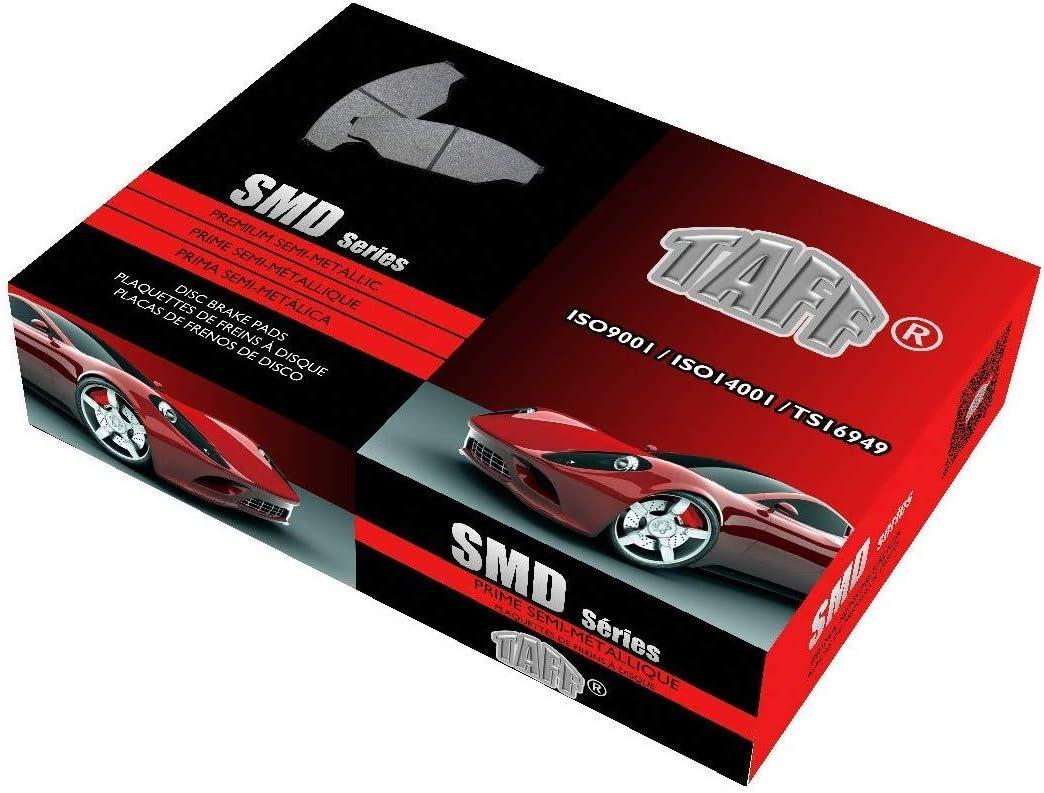 Rear Taff Premium Semi-Metallic Brake Pad SMD Series D1878