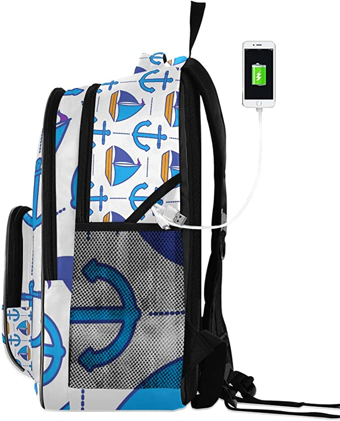 MONTOJ Anchor Away Outdoor Hiking Backpack Hiking /& Travelling Backpack with Laptop Compartment /& Camping Backpack