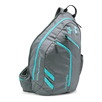 1b1b6be4e1f Under Armour Unisex UA Compel Sling II Steel/Steel/Blue Infinity Backpack