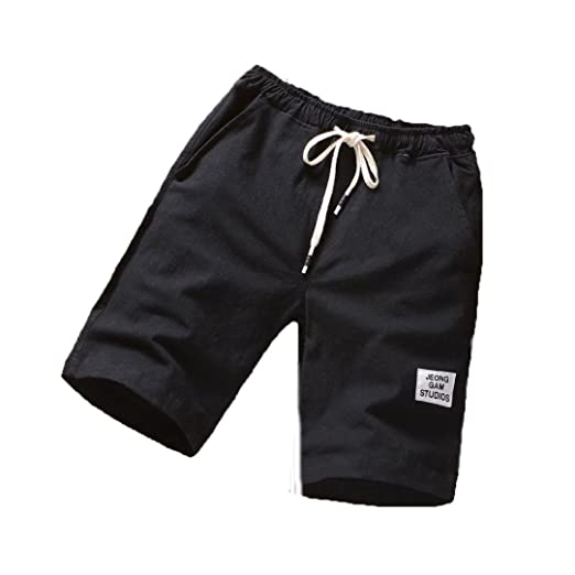 935ef6440085 Amazon.com  Clearance ! PASATO Classic Mens Beach Pants Sports Breathable Fashion  Pants Summer Fitness Running Pants  Clothing