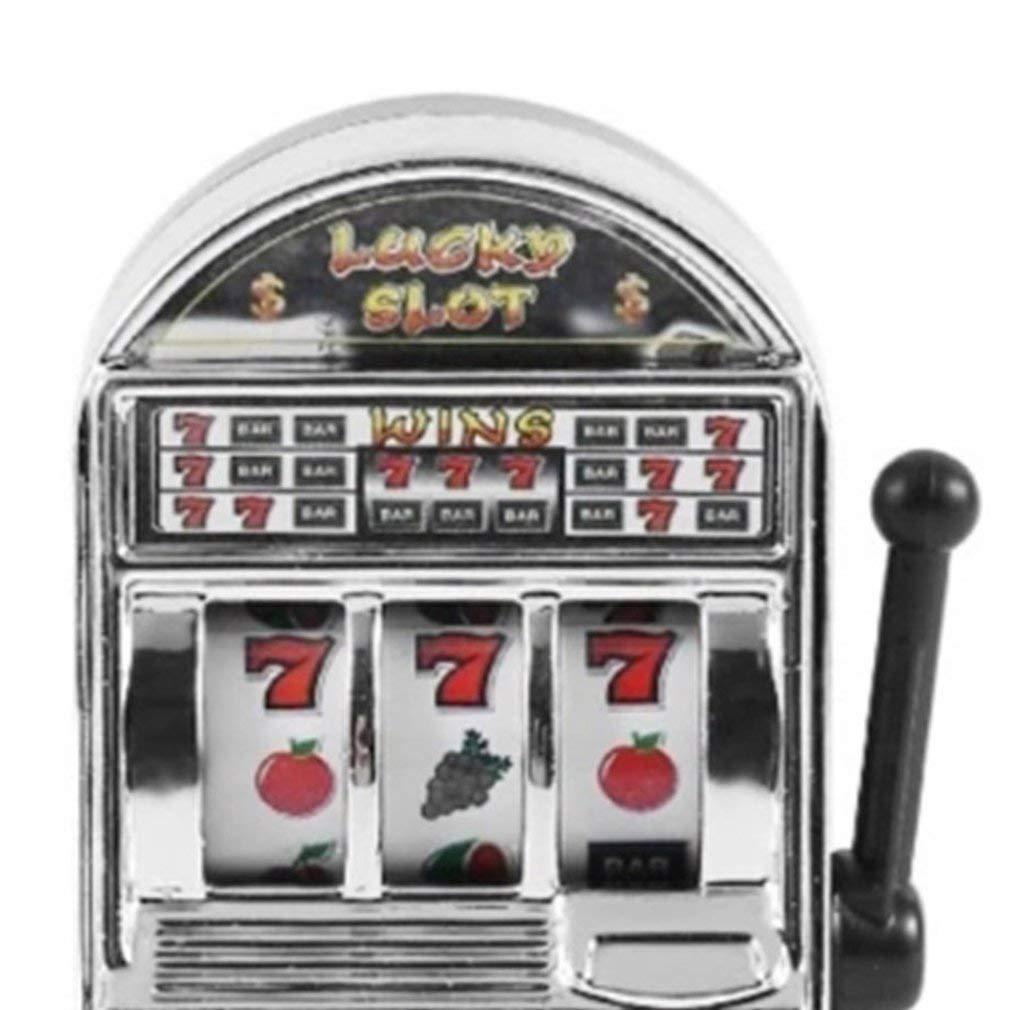 Funny Toy Metal Mini Lucky Slot Machine Entertainment Tool for Fun