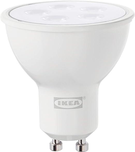 Ikea Tradfri Gu10 Bombilla Led Regulable 400 Lumenes 2700 K Amazon Es Iluminacion