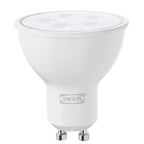 IKEA TRADFRI GU10 - Bombilla LED regulable (400 lúmenes, 2700 K)