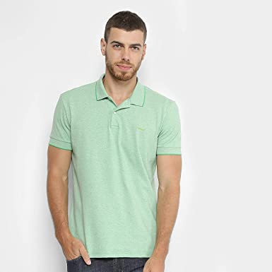 24f8f6a6f Camisa Polo Colcci Candy Color Masculina - Verde - Gg  Amazon.com.br ...