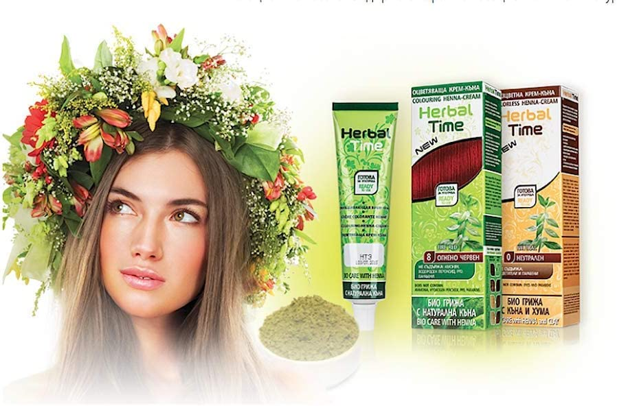 Henna Natural Colorante en Crema, Color Castaño 5, Sin Amoniaco, Sin Sulfatos, Sin Parabenos
