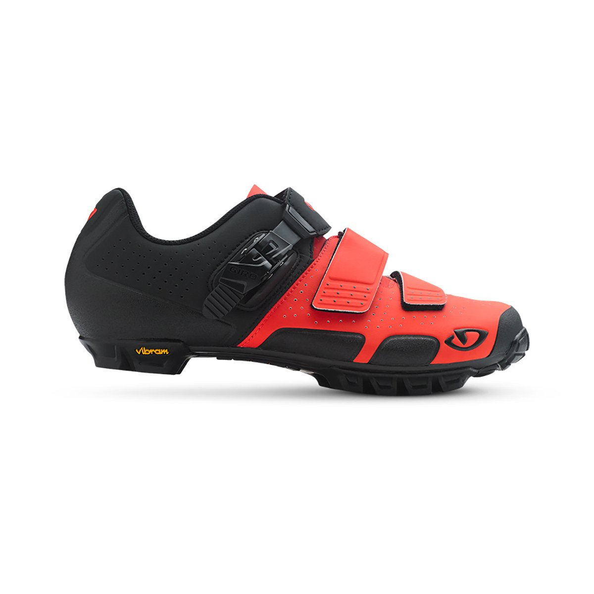 Giro Code Vr70 SPD Mountain Bike Shoes Vermillion/Black 44 by Giro