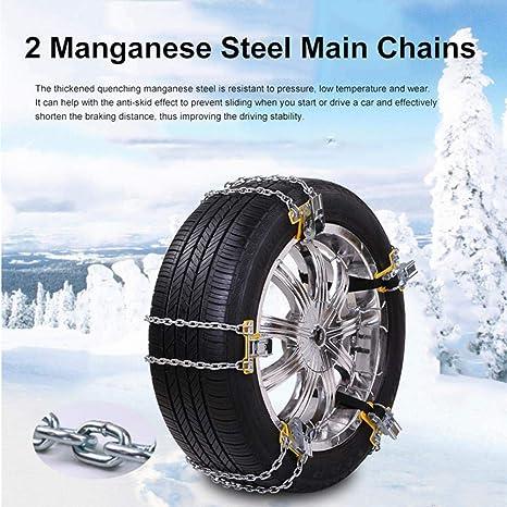 Amazon.com: Cadena para neumáticos de nieve, soplador de ...
